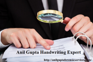 Anil Gupta Handwriting Expert