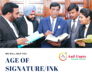 Age Of Signature/Ink